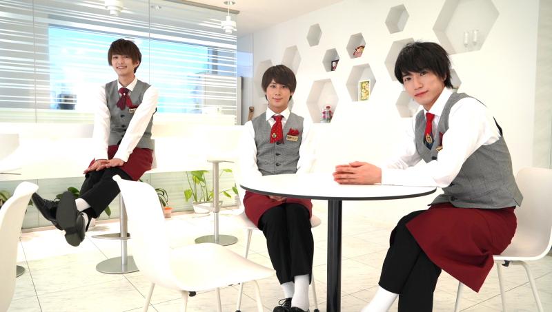 (左から)Candy Boyの前田大翔さん、宮城光輝さん、奥谷知弘さんが語る、バレンタインの思い出は?