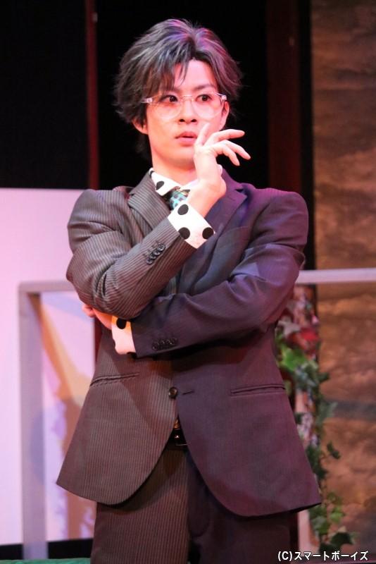 T2に心酔し、T2のために奔走するマネージャー・石田役の大見拓土さん