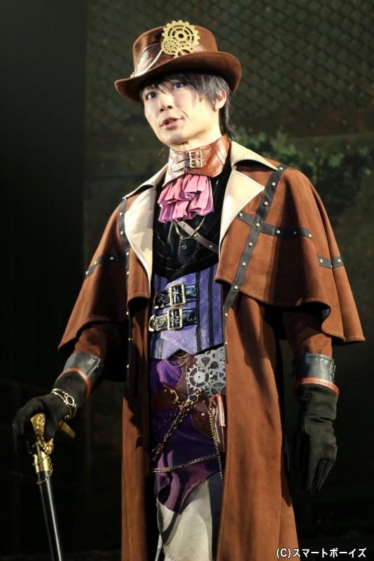 SolidS・篁 志季役の日向野 祥さん