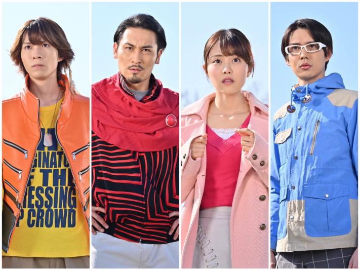 (左から)笹森裕貴さん、高木勝也さん、新田さちかさん、大橋典之さん