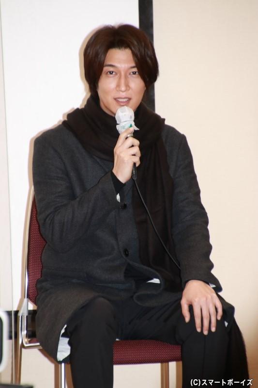 宮内役の天野浩成さん