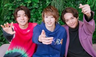 (左から)北川尚弥さん、杉江大志さん、丘山晴己さんが登場!