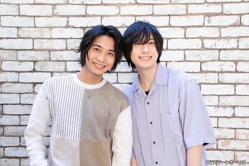 山本一慶さん(右)&谷水力さん(左)