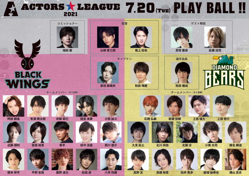 『ACTORS☆LEAGUE』参加メンバー一覧