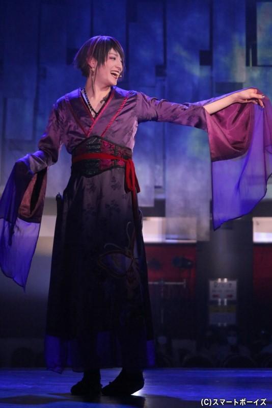 雑賀衆・アゲハ役の神里優希さん