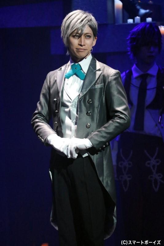 セバスチャン役の長谷川 慎也さん