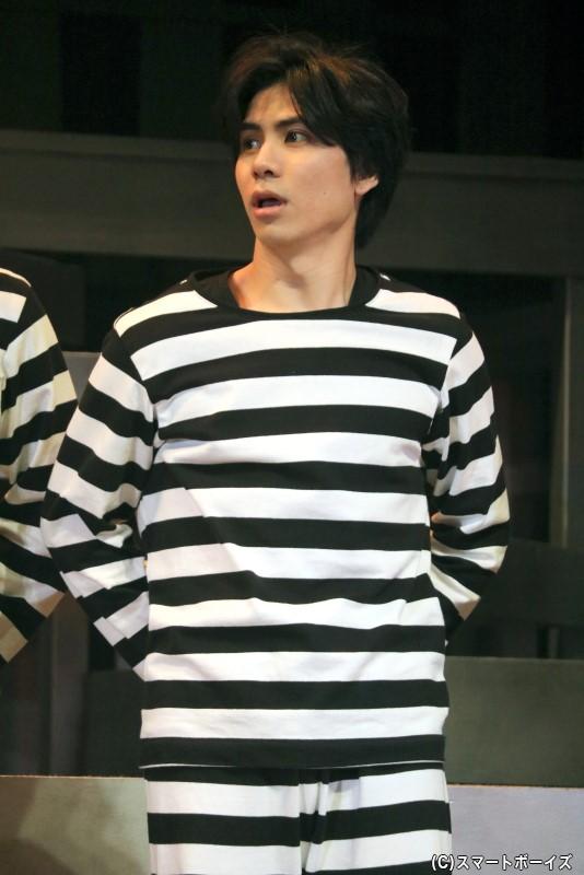 囚人番号33番・ジュニア役の二葉 要さん