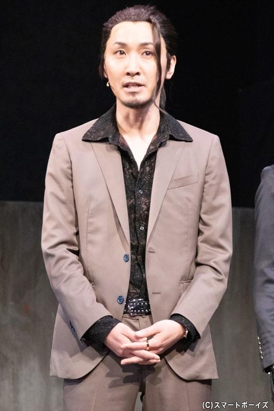 藤堂時雨役/山本康平さん