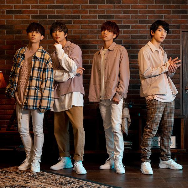 ※写真左よりMAGURA(Actor:助川真蔵)、RYO(Actor:滝澤諒)、LEO(Actor:三谷怜央)、OMI(Actor:大海将一郎)