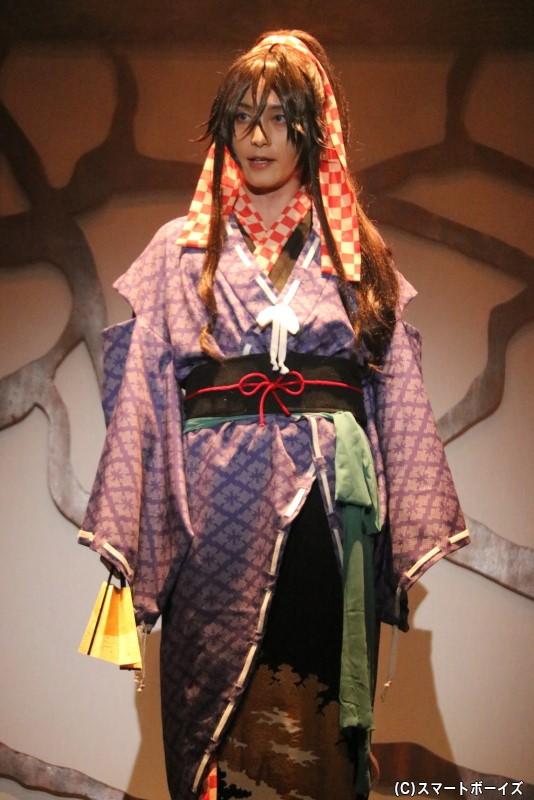 徳川家光役の徳山秀典さん