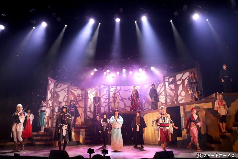 浜浦彩乃さん、櫻井圭登さんら新キャストも登場! 舞台「剣が君-残桜の舞-」再演が開幕