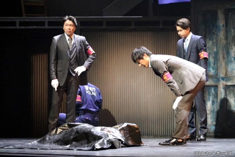 新宿南警察署・捜査一課の刑事たちが、犯人の行方と動機を追う
