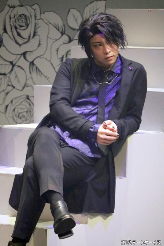 嫉妬・レヴィアタン役の須賀京介さん
