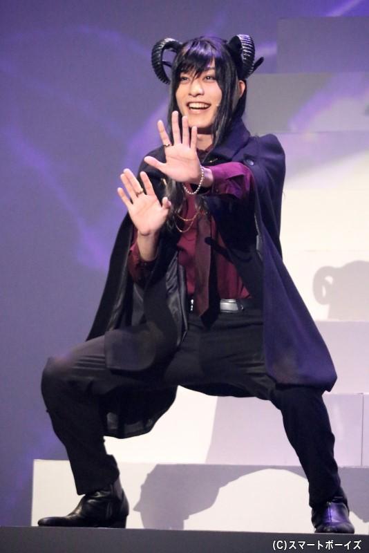 破滅・アバドン役の吉田知央さん