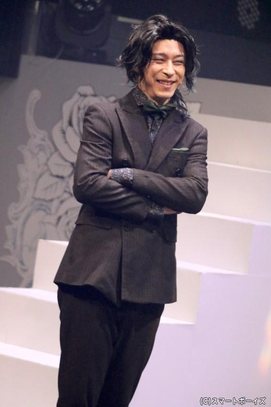 暴食・ベルゼブブ役の石川竜太郎さん