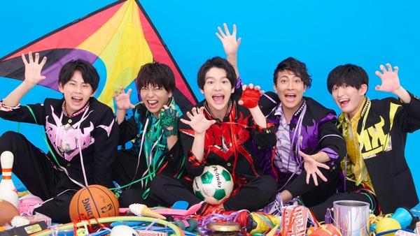 BMK(左から・三隅一輝さん、中原聡太さん、松岡拳紀介さん、米谷恭輔さん、佐藤匠さん)