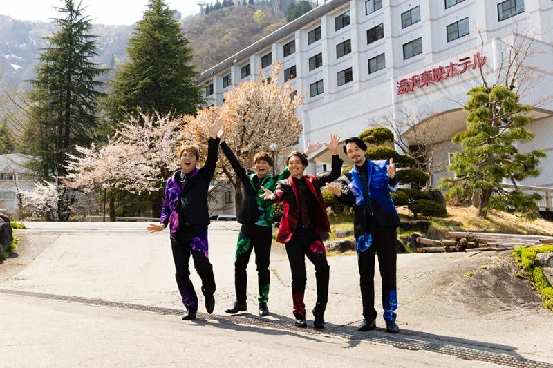 (左より)酒井一圭さん、後上翔太さん、白川裕二郎さん、小田井涼平さん