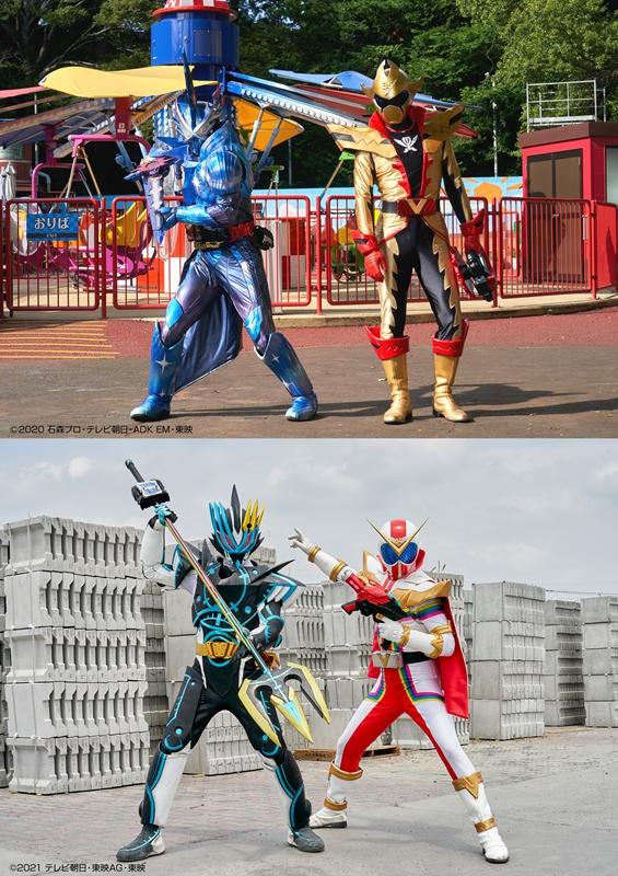 ニチアサの2大ヒーローが夢のコラボ!