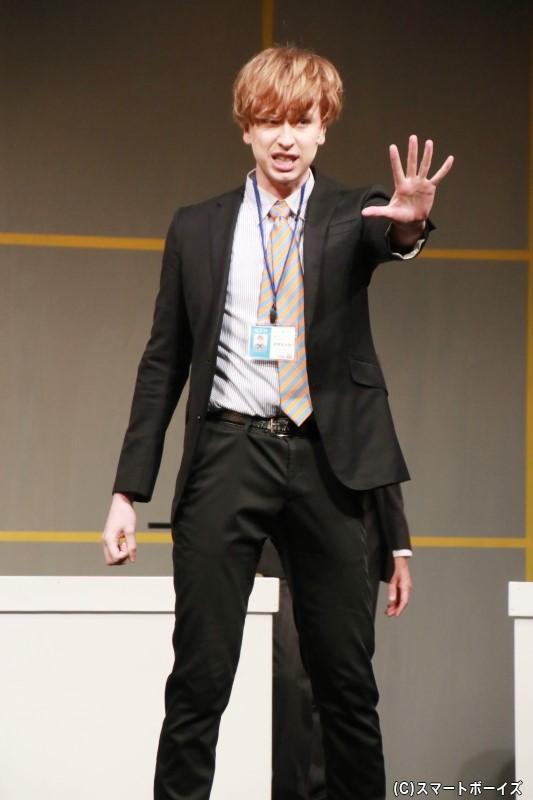 岩渕光太郎役のニコラス・エドワーズさん
