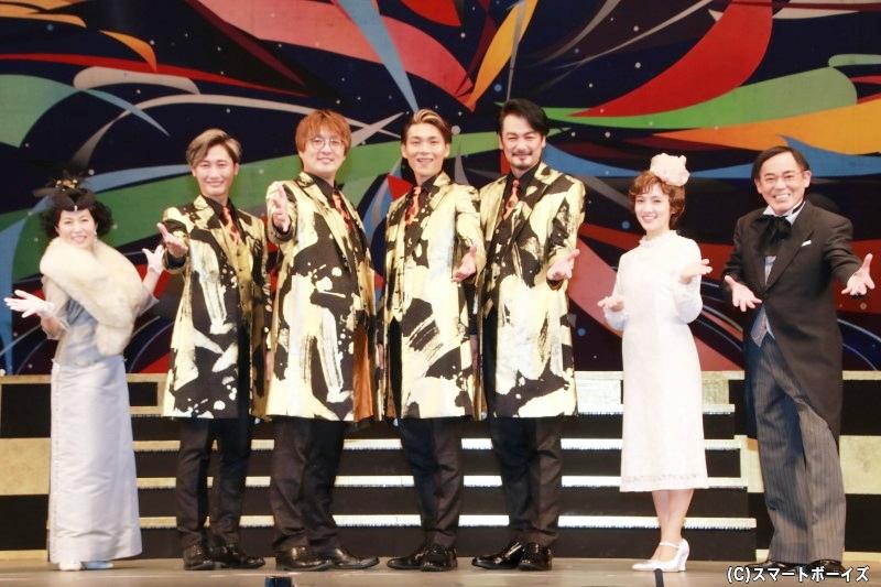 純烈、初の座長公演『明治座7月純烈公演』が開幕!