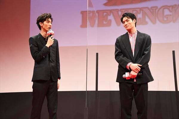 清水尋さんと鈴木伸之さん