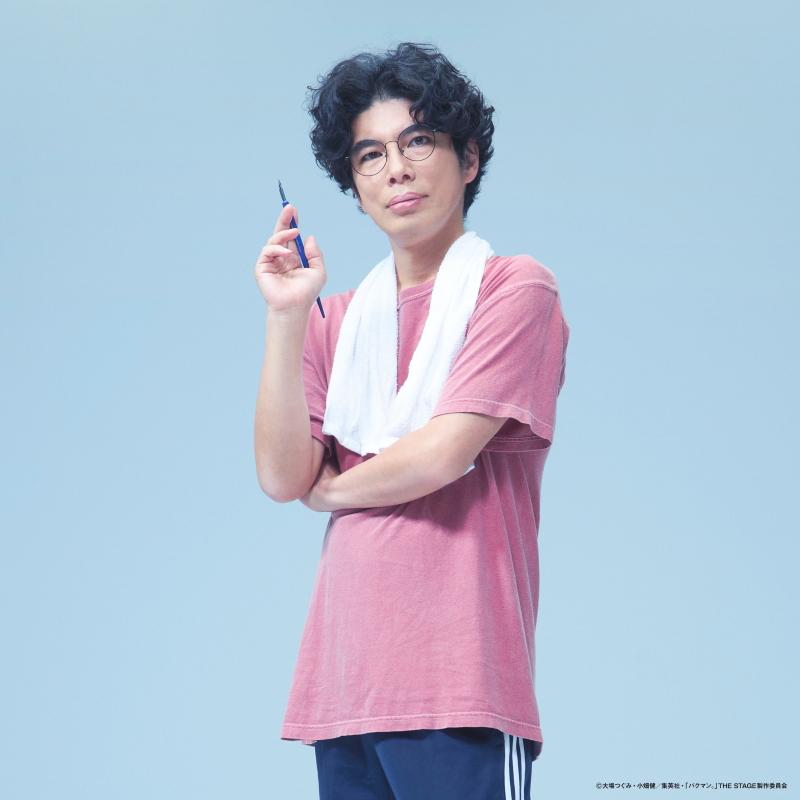 川口たろう役 片桐 仁さん