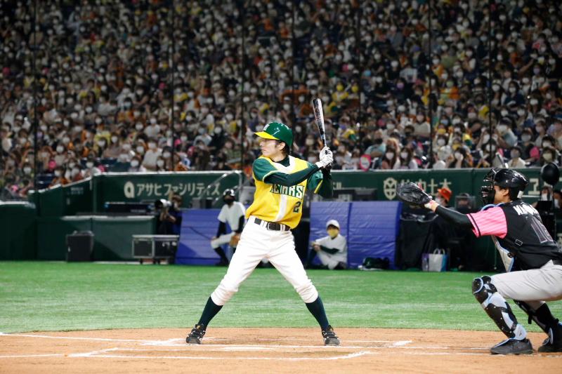 チームを勝利に導いたゴールデンベアーズキャプテンの和田琢磨さん
