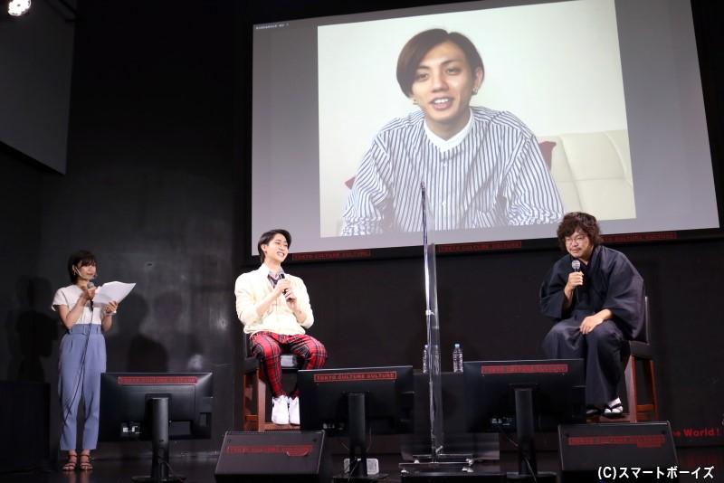 制作発表には、高橋怜也さんもリモート出演!
