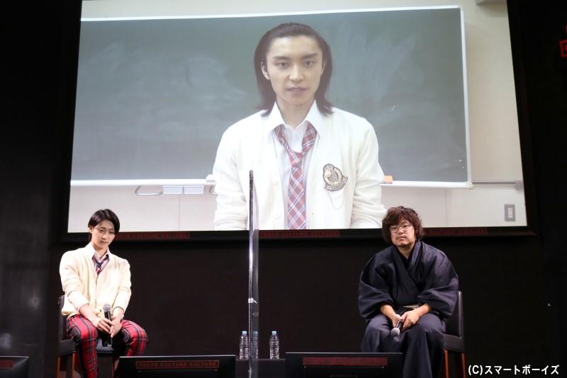 阿部さんから、ドラマを楽しみにしている方へのメッセージも送られました