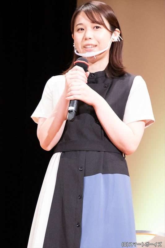 キヌ子 役/金澤美穂さん
