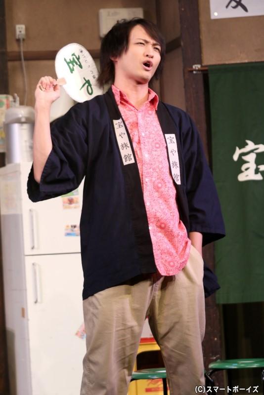 霧島真之介(レッド)役の鷲尾修斗さん