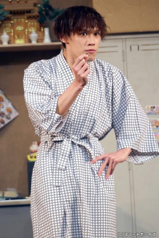 赤倉利明(グリーン)役の新井 將さん