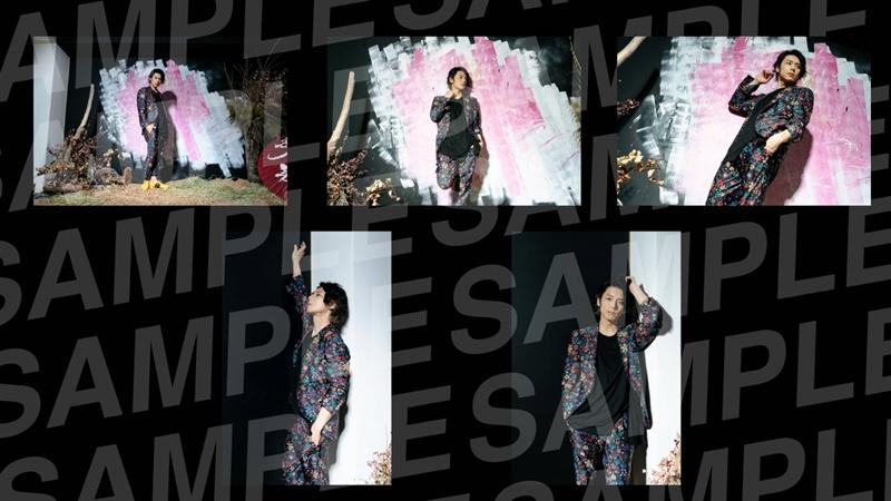 富田翔オフィシャルウェブサイト開設記念ブロマイドDセット