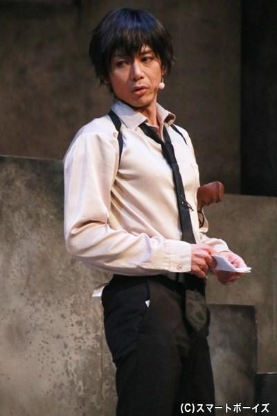 柳愛時役の富田翔さん