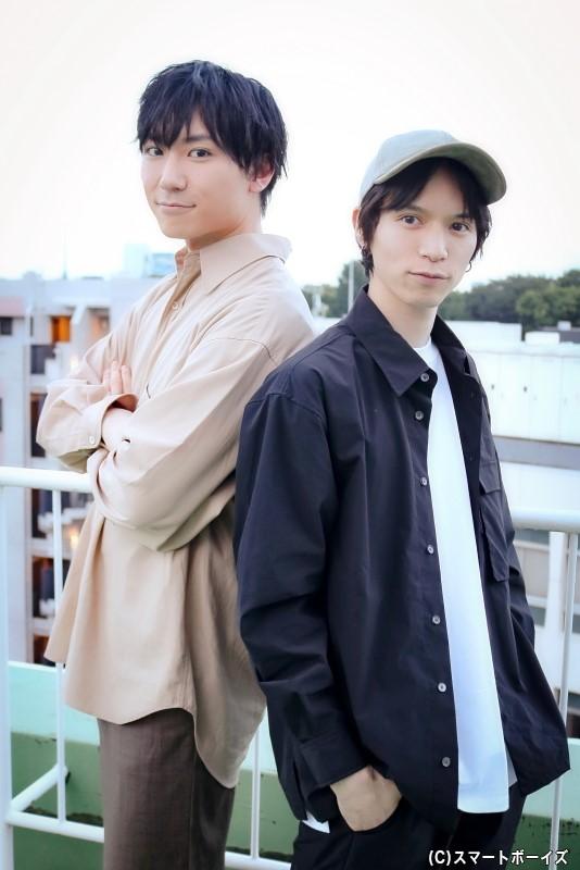 (左から)日向野 祥さん、北村 諒さん