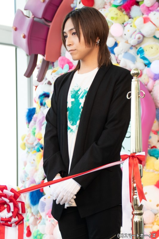 展覧会の音声ガイドを務める声優・蒼井翔太さん