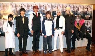 (左から)田上真里奈さん、久保田秀敏さん、岩永洋昭さん、百瀬 朔さん、猪野広樹さん、小野健斗さん、郷本直也さん