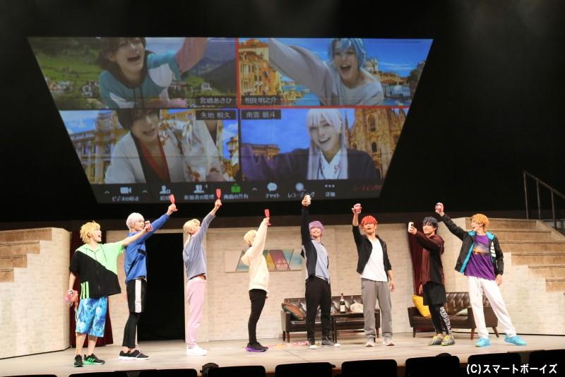 イタリア修行中のあさひたちもリモートで見守る中、「ピエナ」は無事に公演を迎えられるのか!?