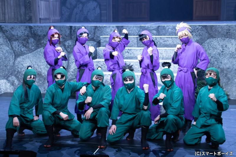 忍ミュ第12弾の東京公演は10月24日まで、大阪公演は10月29~31日まで上演!